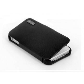 Чехол HOCO Baron Leather Case Black для iPhone 4/4S