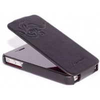Чехол HOCO Earl Fashion Leather Case Black для iPhone 4/4S