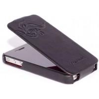 Чехол HOCO Earl Fashion Leather Case Black для iPhone 4/4S