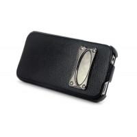 Чехол HOCO Marquess Classic Leather Case BLACK для iPhone 4/4S