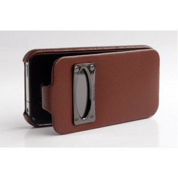 Чехол HOCO Marquess Classic Leather Case BROWN для iPhone 4/4S