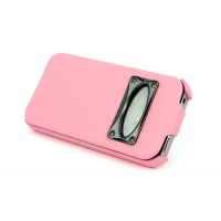 Чехол HOCO Marquess Classic Leather Case PINK для iPhone 4/4S