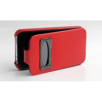Чехол HOCO Marquess Classic Leather Case RED для iPhone 4/4S