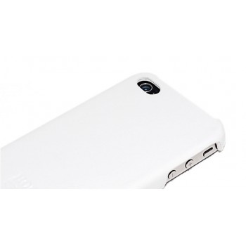 Чехол HOCO Duke Real Leather Cover Case WHITE для iPhone 4/4S