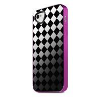 Чехол силиконовый ITSKINS Killer ChicBlack Lattice для iPhone 4/4S