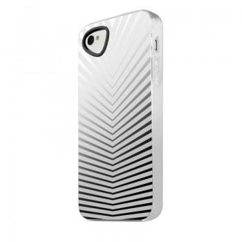 Чехол силиконовый ITSKINS Killer ChicWhite Lines для iPhone 4/4S