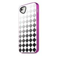 Чехол пластиковый ITSKINS Killer Silver для iPhone 4/4S