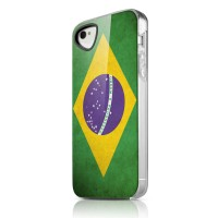 Чехол пластиковый ITSKINS Phantom Brazil для iPhone 4/4S