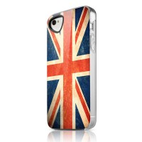 Чехол пластиковый ITSKINS Phantom England для iPhone 4/4S