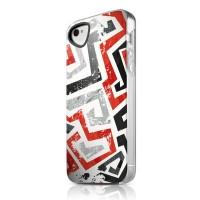 Чехол пластиковый ITSKINS Phantom Graphic Inkaa для iPhone 4/4S