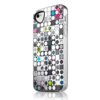 Чехол пластиковый ITSKINS Phantom Graphic Spot для iPhone 4/4S