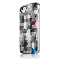 Чехол пластиковый ITSKINS Phantom Graphic Square для iPhone 4/4S