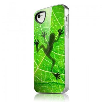 Чехол пластиковый ITSKINS Phantom Lezard Shadow для iPhone 4/4S