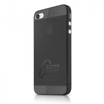 Чехол пластиковый ITSKINS ZERO.3 BLACK для iPhone 4/4S