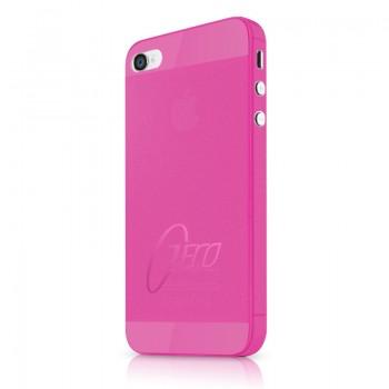 Чехол пластиковый ITSKINS ZERO.3 PINK для iPhone 4/4S