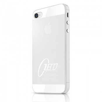 Чехол пластиковый ITSKINS ZERO.3 WHITE для iPhone 4/4S