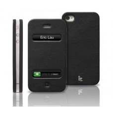 Чехол Jison Case Magic Leather Case BLACK для iPhone 4/4S