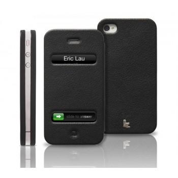 Чехол Jison Case Magic Leather Case BLACK для iPhone 4/4S