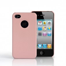 Чехол Jison Case Slim Fit Leather Cover Case PINK для iPhone 4/4S