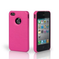 Чехол Jison Case Slim Fit Leather Cover Case ROSE для iPhone 4/4S