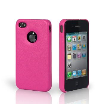 Чехол Jison Case Slim Fit Leather Cover Case ROSE для iPhone 4/4S