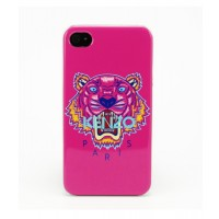 Чехол пластиковый KENZO Tiger Fever Cover Case PINK для iPhone 4/4S