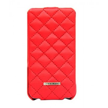 Чехол NUOKU Only Luxury Lambskin Case RED для iPhone 4/4S