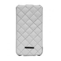 Чехол NUOKU Only Luxury Lambskin Case WHITE для iPhone 4/4S