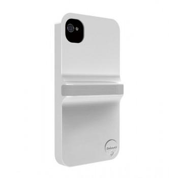 Чехол пластиковый Ozaki iCoat Finger White/Grey для iPhone 4/4S