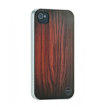 Чехол пластиковый под дерево Ozaki iCoat Wood Patience для iPhone 4/4S