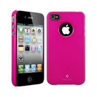 Чехол пластиковый Spigen Case Ultra Thin Air Vivid Series Fantasia HOT PINK для iPhone 4/4S