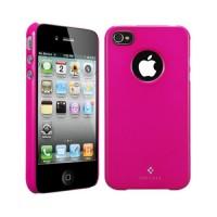 Чехол пластиковый Spigen Case Ultra Thin Air Vivid Series Fantasia HOT PINK для iPhone 4/4S