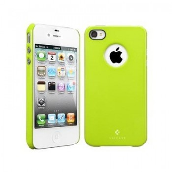 Чехол пластиковый Spigen Case Ultra Thin Air Pastel Series LIME для iPhone 4/4S