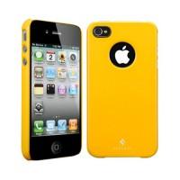 Чехол пластиковый Spigen Case Ultra Thin Air Vivid Series REVENTON YELLOW для iPhone 4/4S
