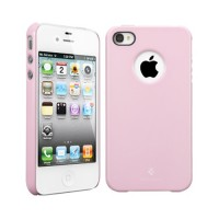 Чехол пластиковый SGP Case Ultra Thin Air Pastel Series SHERBET PINK для iPhone 4/4S