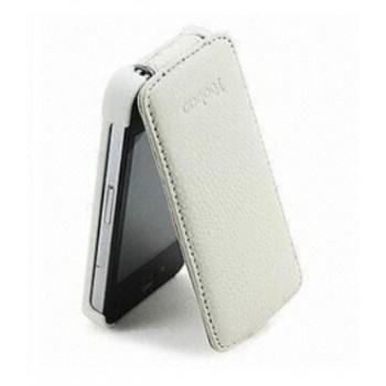 Чехол YOOBAO Slim Leather Case WHITE для iPhone 4/4S