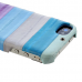 Чехол пластиковый Zenus Prestige Natural Eel Bar Case Multi Blue для iPhone 4/4S