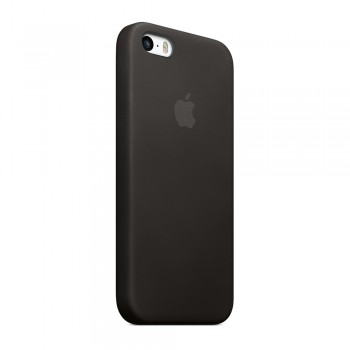 Чехол силиконовый Apple Silicone Case Pastel Black для iPhone 5/5S/5SE