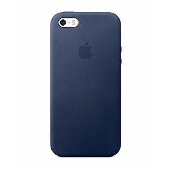 Чехол силиконовый Apple Silicone Case Blue Cobalt для iPhone 5/5S/5SE
