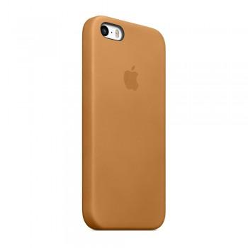 Чехол силиконовый Apple Silicone Case Brown для iPhone 5/5S/5SE