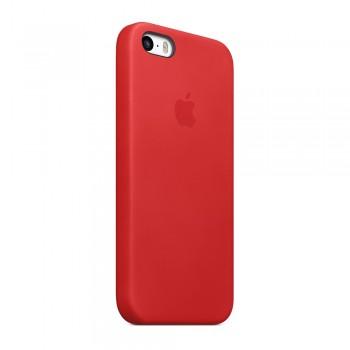 Чехол силиконовый Apple Silicone Case Scarlet Red для iPhone 5/5S/5SE