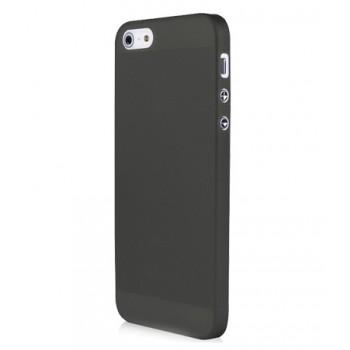 Чехол пластиковый Baseus 0.4 mm Organdy Case Black для iPhone 5/5S