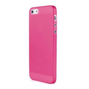 Чехол пластиковый Baseus 0.4 mm Organdy Case Red для iPhone 5/5S