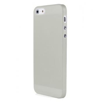Чехол пластиковый Baseus 0.4 mm Organdy Case White для iPhone 5/5S