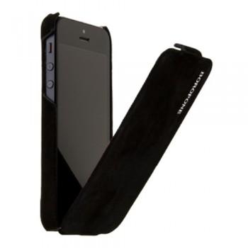 Чехол Borofone Shark Flip Leather Case Black для iPhone 5/5s/5SE