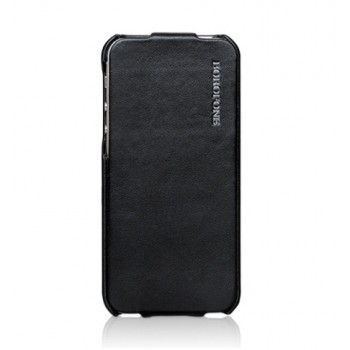 Чехол Borofone Leader Series General Flip Case Black для iPhone 5/5S