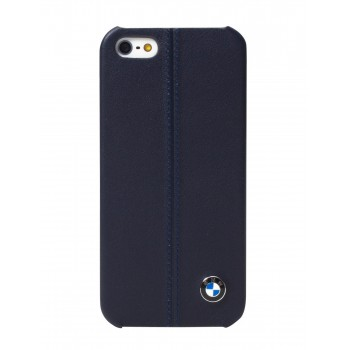 Чехол BMW Signature Collection Hard Cover Case Blue Navy для iPhone 5/5S