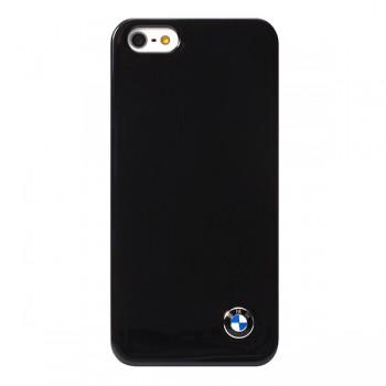 Чехол пластиковый BMW Signature Collection Hard Shiny finish Black для iPhone 5/5S/5SE