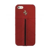 Чехол Ferrari California Leather Cover Case RED для iPhone 5/5S