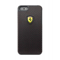 Чехол Ferrari Challenge Case Perforated BLACK для iPhone 5/5S